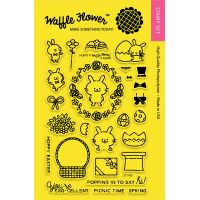 "Waffle Flower Crafts Clear Stamps 4""X6"" NOTM322188"