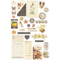Amber Moon Ephemera Cardstock Die-Cuts NOTM091778