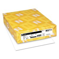 Neenah Paper Exact Vellum Bristol Cover Stock, 67lb, 94 Bright, 8 1/2 x 11, White, 250 Sheets WAU80211