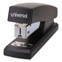 "Universal Half-Strip Stapler, 20-Sheet Capacity, 2"" Throat, Black UNV43119"