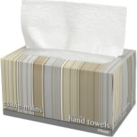Kleenex Ultra Soft Hand Towels in a POP-UP Box, 9 x 10 1/2, 1-Ply, White, 70 Sheets/Box KCC11268