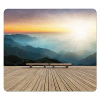 Fellowes Recycled Mouse Pads, Mountain Design, 9 x 8 x 1/16 FEL5916201