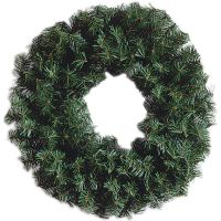 "Darice Canadian Pine Wreath 220 Tips, 24"" NOTM379744"