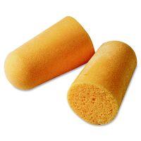 3M Foam Single-Use Earplugs, Cordless, 29NRR, Orange, 200 Pairs MMM1100
