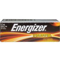 Energizer Industrial Alkaline Batteries, C, 12 Batteries/Box EVEEN93