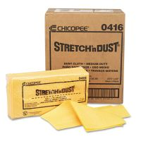 Chix Stretch 'n Dust Cloths, 23 1/4 x 24, Orange/Yellow, 20/Bag, 5 Bags/Carton CHI0416