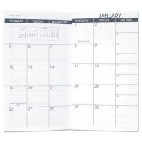 AT-A-GLANCE Pocket Size Monthly Planner Refill, 3 1/2 x 6 1/8, White, 2018-2019 AAG7090610