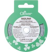 "Quick Bias Fusible Bias Tape 1/4""X11yd NOTM059013"
