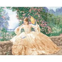 Ringlets & Roses Counted Cross Stitch Kit NOTM052771