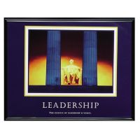 Advantus Motivational Leadership Framed Poster AVT78035