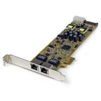 StarTech.com Dual Port PCI Express Gigabit Ethernet PCIe Network Card Adapter - PoE/PSE SYNX3423252