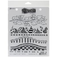 """Dyan Reaveley's Dylusions Cling Stamp Collections 8.5""""X7"""" NOTM222422"""