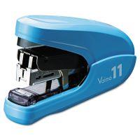 Max Flat Clinch Light Effort Stapler, 35-Sheet Capacity, Blue MXBHD11FLKBE