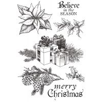 "Christmas Edition Clear Stamps 6""X4"" NOTM035133"
