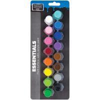 Americana Multi-Surface Satin Paint Pots 16/Pkg NOTM135899