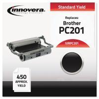 Innovera Compatible PC201 Thermal Transfer Print Cartridge, Black IVRPC201