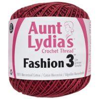 Aunt Lydia's Fashion Crochet Thread - Scarlet NOTM296901
