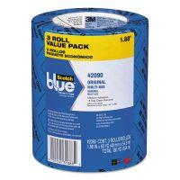"Scotch Painter's Tape, 1.88"" x 60yds, 3"" Core, Blue, 3/Pack MMM209048EVP"