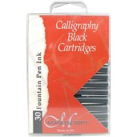 Manuscript Fountain Pen Ink Cartridges 30/Pkg NOTM270591