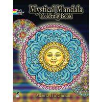 Dover Publications: Mystical Mandala Coloring Book NOTM160704
