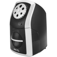 X-ACTO SharpX Performance Electric Pencil Sharpener, Black/Silver EPI1772