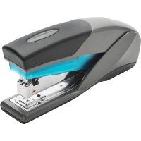 Swingline Optima 25 Reduced Effort Stapler, Full Strip, 25-Sheet Capacity, Gray/Blue SWI66404