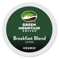Green Mountain Coffee K-Cups, Breakfast Blend, Light Roast, 24 K-Cups GMT6520