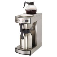 Coffee Pro Thermal Institutional Brewer, Stainless Steel, 12 Cup, 15 1/2 x 14 3/4 x 17 OGFCPRLT