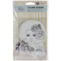 """Bloom Cling Rubber Stamps 4""""X6"""" NOTM361465"""