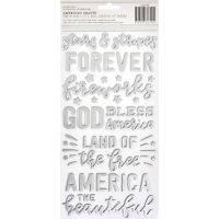 "Land That I Love Thickers Stickers 5.5""X11"" 2/Pkg NOTM385464"