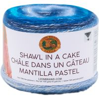 Lion Brand Shawl in a Cake Yarn NOTM064638