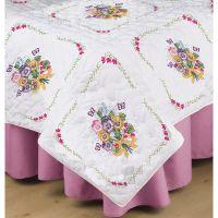 Stamped White Quilt Blocks  NOTM407350
