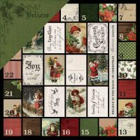 "Letters To Santa Double-Sided Cardstock 12""X12"" NOTM035342"