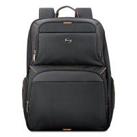 "Solo Urban Backpack, 17.3"", 12 1/2"" x 8 1/2"" x 18 1/2"", Black USLUBN7014"