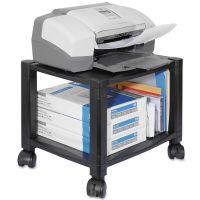 Kantek Mobile Printer Stand, Two-Shelf, 17w x 13 1/4d x 14 1/8h, Black KTKPS510