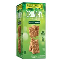 Nature Valley Granola Bars, Oats & Honey, 1.5 oz Bar, 49/Carton GNM827622