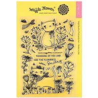 "Waffle Flower Crafts Clear Stamp 5""X7"" NOTM466552"