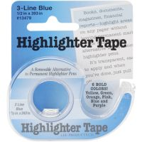 "Highlighter Tape .5""X393"" NOTM016741"