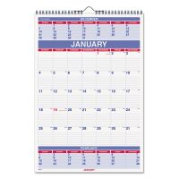 AT-A-GLANCE Three-Month Wall Calendar, 15 1/2 x 22 3/4, 2019 AAGPM628