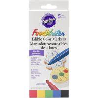 Food Writer Fine Tip Edible Color Markers .35oz 5/Pkg NOTM331580