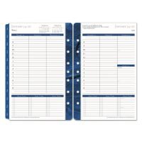 FranklinCovey Monticello Dated Weekly/Monthly Planner Refill, 5 1/2 x 8 1/2, 2019 FDP37062