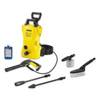 Karcher 1,600 PSI 1.25 GPM Compact Electric Pressure Washer with Car Care Kit KCR16023150