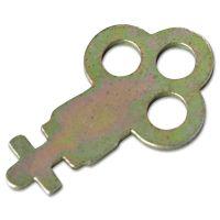 San Jamar Key for Metal Toilet Tissue Dispensers: T800, T1905, T1900, T1950, T1800, R1500 SJMN13EZ