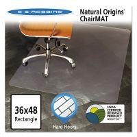ES Robbins Natural Origins Chair Mat For Hard Floors, 36 x 48, Clear ESR143007