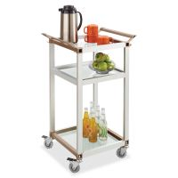 Safco Small Refreshment Cart SAF8968SL