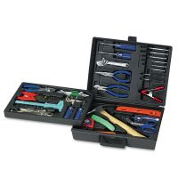 Great Neck 110-Piece Home/Office Tool Kit, Drop Forged Steel Tools, Black Plastic Case GNSTK110