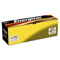 Energizer Industrial Alkaline Batteries, D, 12 Batteries/Box EVEEN95