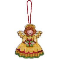 Dimensions Susan Winget Angel Ornament Counted Cross Stitch Kit NOTM050936