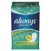 Always Ultra Thin Pads, Super Long, 40/Pack PGC32494PK
