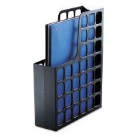 Pendaflex Plastic Magazine File, 3 x 9 1/2 x 12 1/2, Black PFX24466